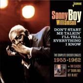 WILLIAMSON SONNY BOY  - CD DON'T START ME TALKIN'..