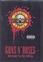 GUNS N' ROSES  - DVD WELCOME TO THE VIDEOS