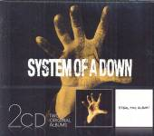 SYSTEM OF A DOWN  - 2xCD SYSTEM OF A DOWN/STEAL..