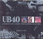 UB40  - 3xCD LABOUR OF LOVE..