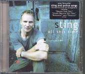 STING  - CD ALL THIS TIME /LIVE