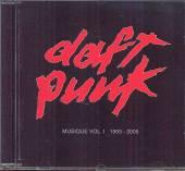 DAFT PUNK  - CD MUSIQUE VOL 1 1993-2005