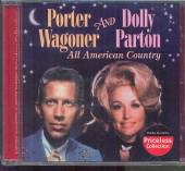 WAGONER PORTER / PARTON DOLLY  - CD ALL AMERICAN COUNTRY