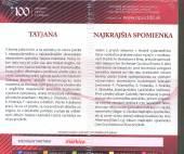 TATJANA / NAJ SPOMIENKA - supershop.sk