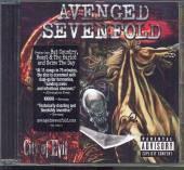 AVENGED SEVENFOLD  - CD CITY OF EVIL