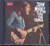 MAYALL JOHN & THE BLUESBREAKE  - CD THRU THE YEARS