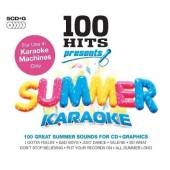 VARIOUS  - 5xCD 100 HITS - SUMMER KARAOKE