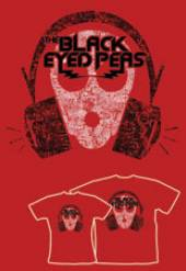 BLACK EYED PEAS =T-SHIRT=  - TR OUT OF