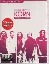 KORN  - 3xCD MUSIC OF KORN