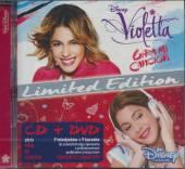 SOUNDTRACK DISNEY  - CD OST VIOLETTA - GIRA MI CANCION