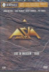 ASIA  - CD+DVD LIVE IN MOSCOW