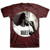MARLEY BOB =T-SHIRT=  - TR SMOKIN' CIRCLE -M- BROWN