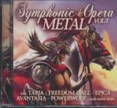 VARIOUS  - CD SYMPHONIC & OPERA METAL VOL. 1