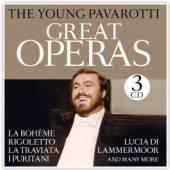 YOUNG PAVAROTTI  - CD GREAT OPERAS