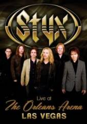 STYX  - DVD LIVE AT THE ORLEANS ARENA LAS VEGAS