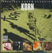 KORN  - 5xCD ORIGINAL ALBUM CLASSICS