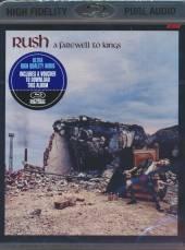 RUSH  - BRA FAREWELL TO KINGS/AUDIO