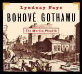 PISARIK MARTIN  - CD FAYE: BOHOVE GOTHAMU (MP3-CD)