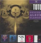 TOTO  - 5xCD ORIGINAL ALBUM CLASSICS