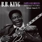 KING B.B.  - CD UNITED RECORDERS ..