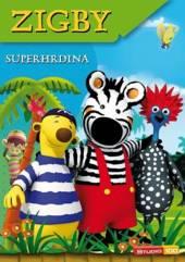 FILM  - DVD ZIGBY -SUPERHRDINA