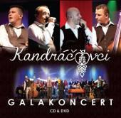 KANDRACOVCI  - 2xCD+DVD GALAKONCERT /CD+DVD
