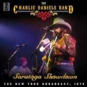 CHARLIE DANIELS BAND  - CD+DVD SARATOGA SHOWDOWN