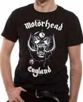 MOTORHEAD =T-SHIRT=  - TR ENGLAND -S- BLACK