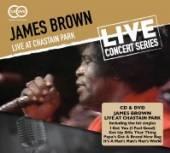 BROWN JAMES  - 2xCD+DVD LIVE AT.. -CD+DVD-