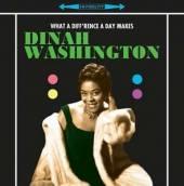 DINAH WASHINGTON (1924-1963)  - VINYL WHAT A DIFF'RE..
