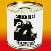 CANNED HEAT  - CD LIVE IN CONCERT 1979..