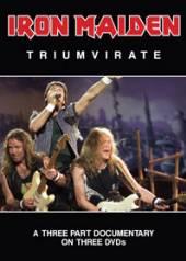IRON MAIDEN  - DVD TRIUMVIRATE (3DVD)