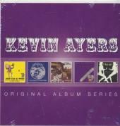 KEVIN AYERS  - 5xCD ORIGINAL ALBUM SERIES