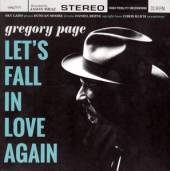 PAGE GREGORY  - CD LET'S FALL IN LOVE AGAIN