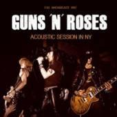 GUNS 'N' ROSES  - CD ACOUSTIC SESSIONS NY