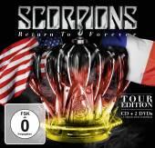 SCORPIONS  - 3xCD+DVD RETURN TO F..