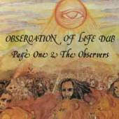 PAGE ONE & OBSERVERS  - CD OBSERVATION OF LIFE DUB