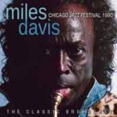 MILES DAVIS  - CD CHICAGO JAZZ FESTIVAL 1990