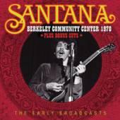 SANTANA  - CD BERKELEY COMMUNITY CENTER 1970