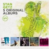 GETZ STAN  - CD 5 ORIGINAL ALBUMS: VERVE