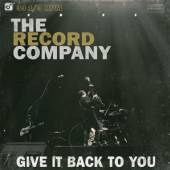 RECORD COMPANY  - CD GIVE IT BACK TO YOU