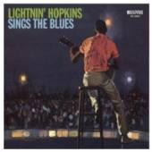 HOPKINS LIGHTNIN'  - CD SINGS THE BLUES