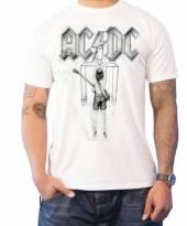 AC/DC =T-SHIRT=  - TR SWITCH -XL- WHITE