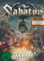 SABATON  - CD+DVD HEROES ON TOUR