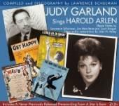 GARLAND JUDY  - 2xCD SINGS HAROLD ARLEN