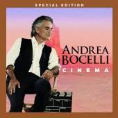 BOCELLI ANDREA  - 2xCD+DVD CINEMA