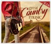 CASH JOHNNY / JACKSON WANDA  - CD GREAT COUNTRY MUSIC