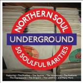 VARIOUS  - 2xCD NORTHERN SOUL UNDERGROUND