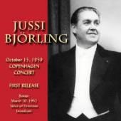 JUSSI BOERLING  - CD COPENHAGEN CONCERT OCTOBER 15. 1959