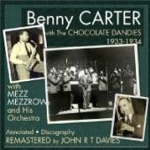 CARTER BENNY  - CD AND THE CHOCOLATE DANDIES 1933-1934
